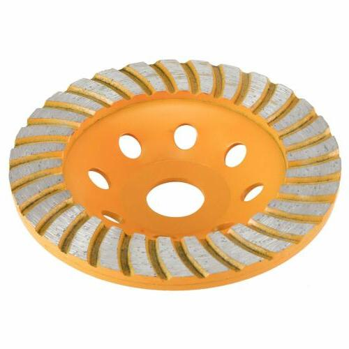 YaeCCC 5 Diamond Cup Grinding Grinder Disc for Concrete,