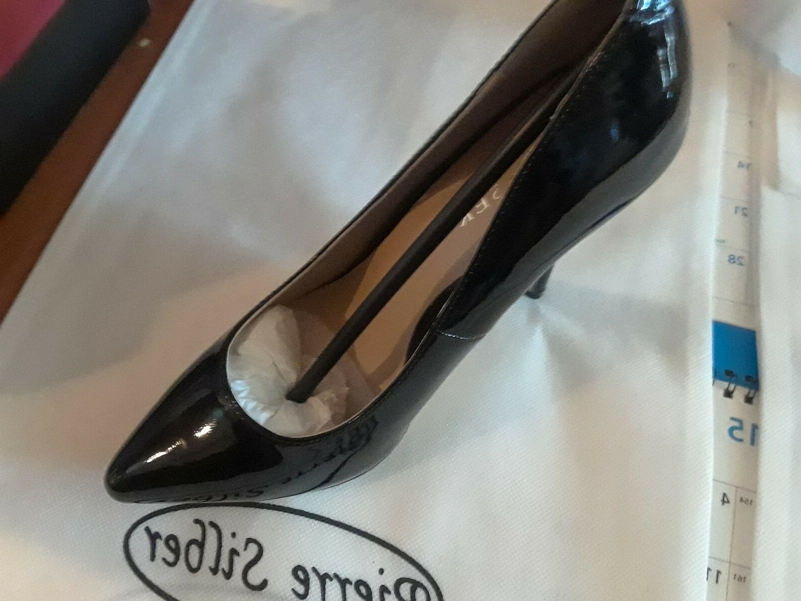 5 heel,HIDDEN PUMP, PATENT, 7 NEW CONDITION.