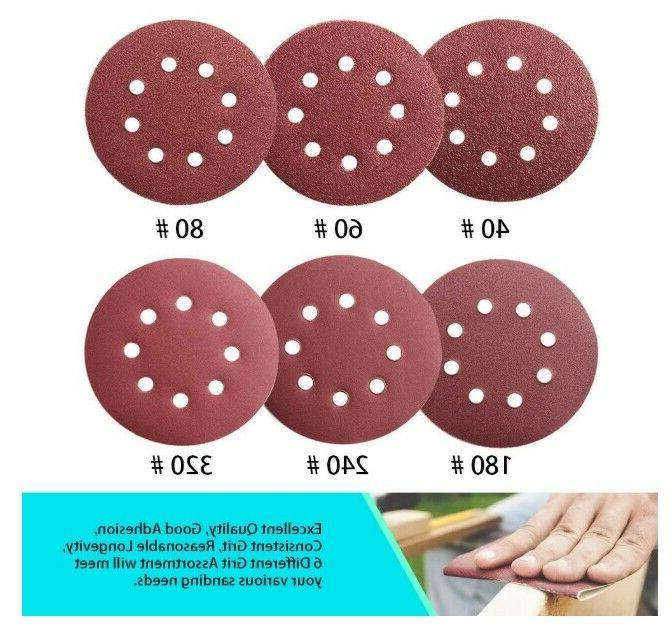 5 Inch Hook And Loop Disc Pads