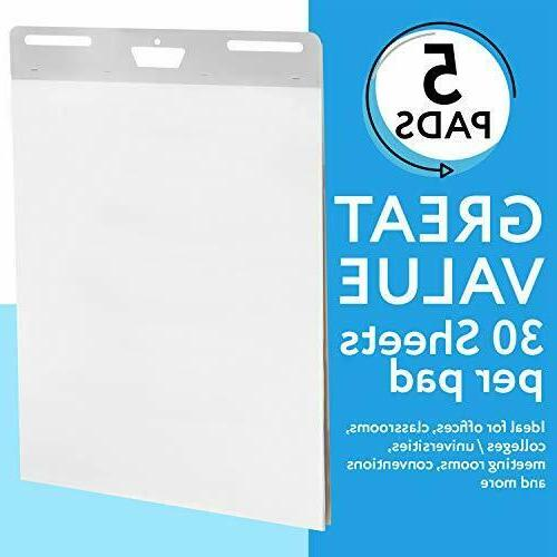 5-Pack of Premium Easel x 30 30 Sheets