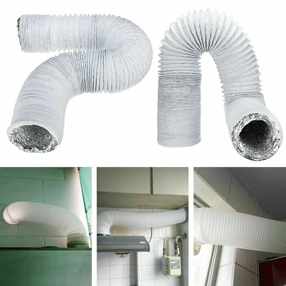 5inch exhaust hose pvc flexible ducting air