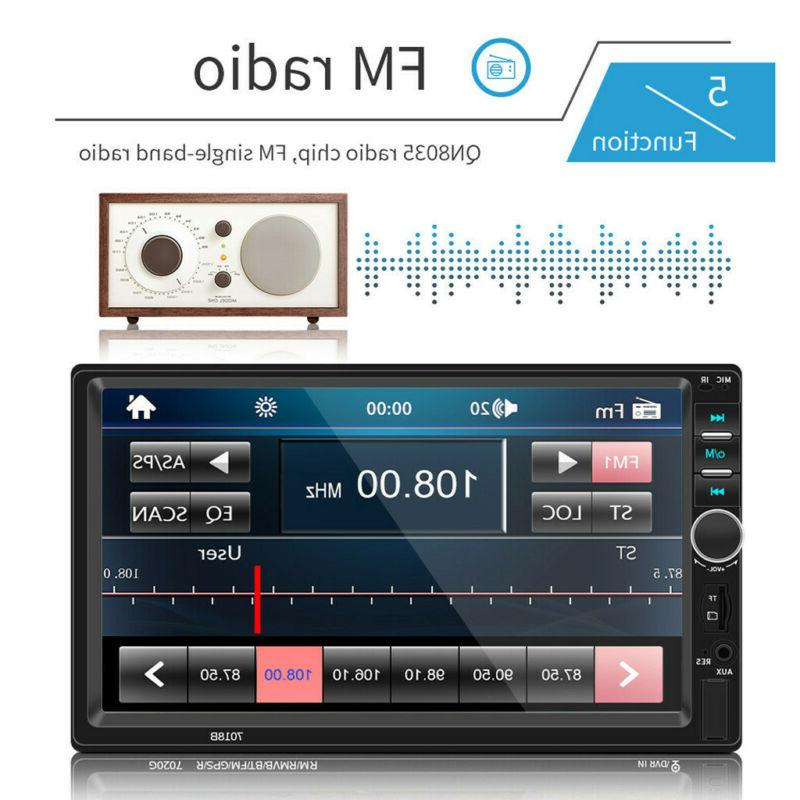 7 Inch 2DIN Stereo HD MP5 Player