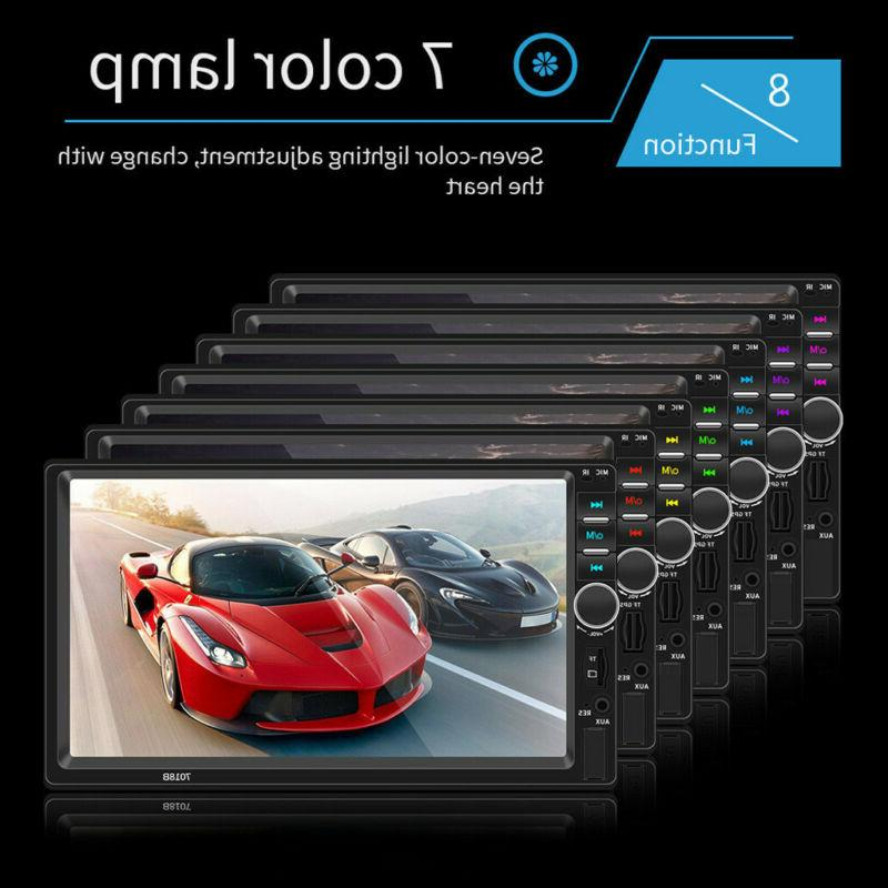 7 DOUBLE 2DIN BT Screen Stereo