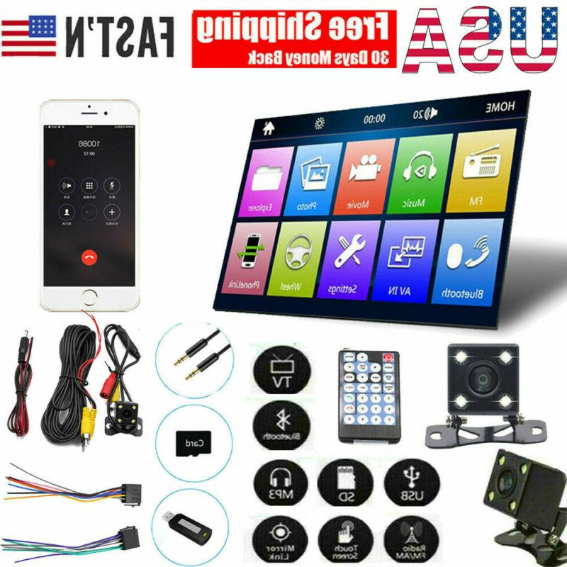 7 inch 12v double 2din bt touch