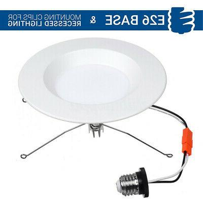 72PC LED Recessed Downlight Trim Dimmable Retrofit Can Light