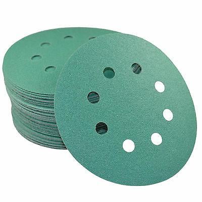 50-Pack 5 inch 8-Hole 120-Grit Discs for Porter-Cable 382 Ra