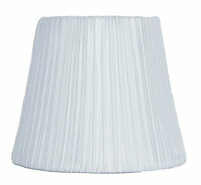 Urbanest Box Pleated Chandelier Lamp Shade, Off White ,5 inc