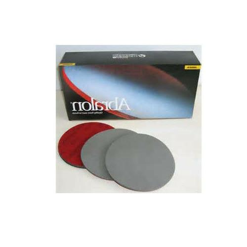 BRAND NEW MIRKA/ABRALON PADS 6 INCH 5 PACK OF 500 GRIT