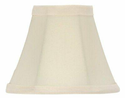 chandelier lamp shade bell shape 5 inch