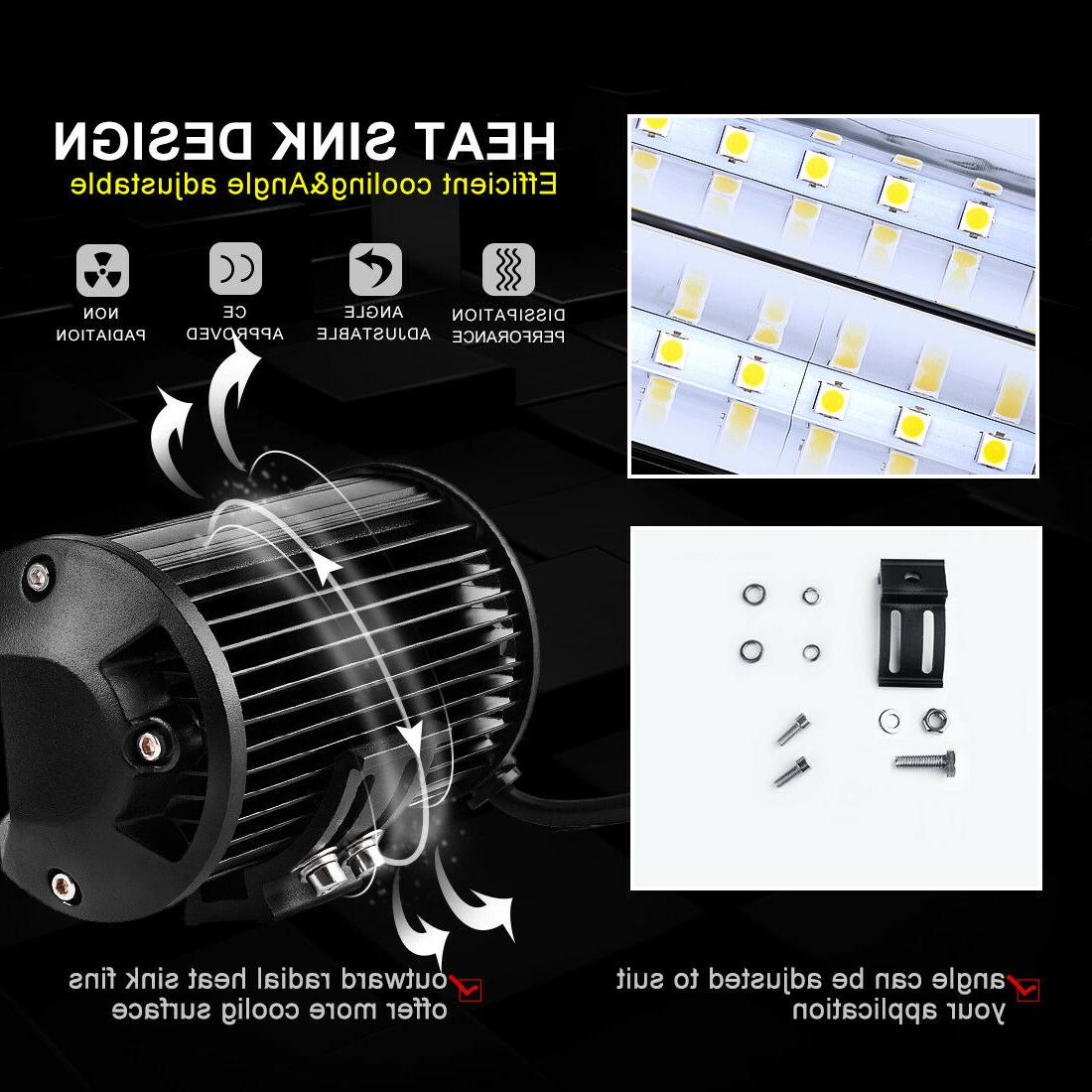 Combo 5 Inch LED Light Spotlight Off-road Driving Fog Truck