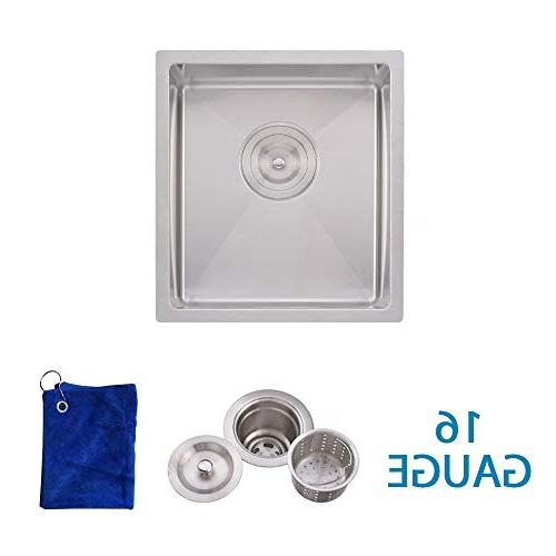 commercial stainless steel single bowl