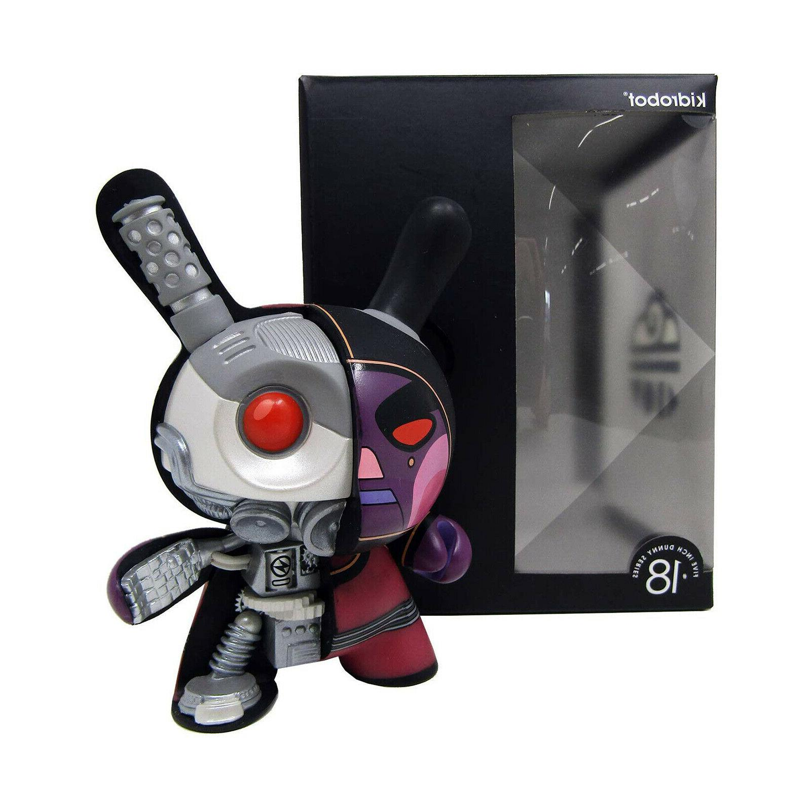 dirty robot dunny 5 inch figure new