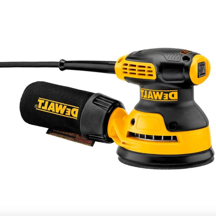 "DEWALT DWE6420 3 Amp 5/"" Single Speed Random Orbital Sander w// PSA Pad New"