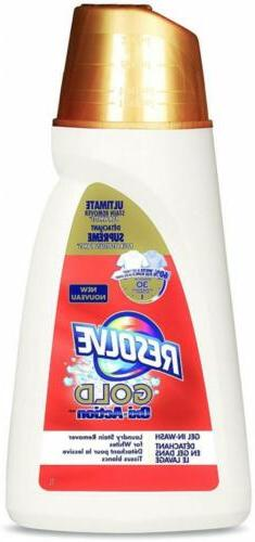Resolve Gold Oxi-Action Laundry Stain Remover, Gel in-Wash,