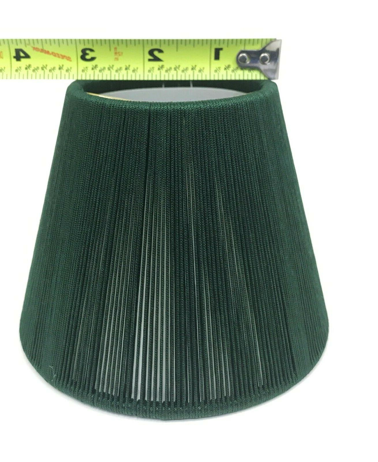 Green Shape Inch Lamp Clips onto Candelabra Qty
