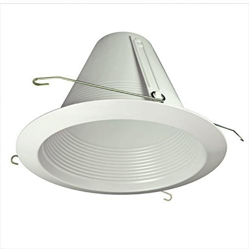 "Four Lighting- & 5"" Inch White Baffle Trim Air Tight Light"