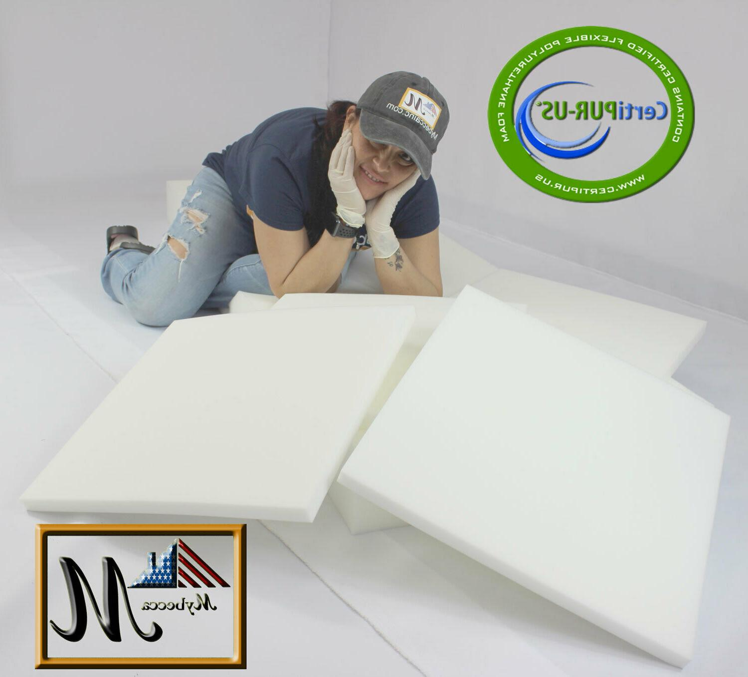 "Medium Density Mybecca Foam Cushion Pad 24"" X"