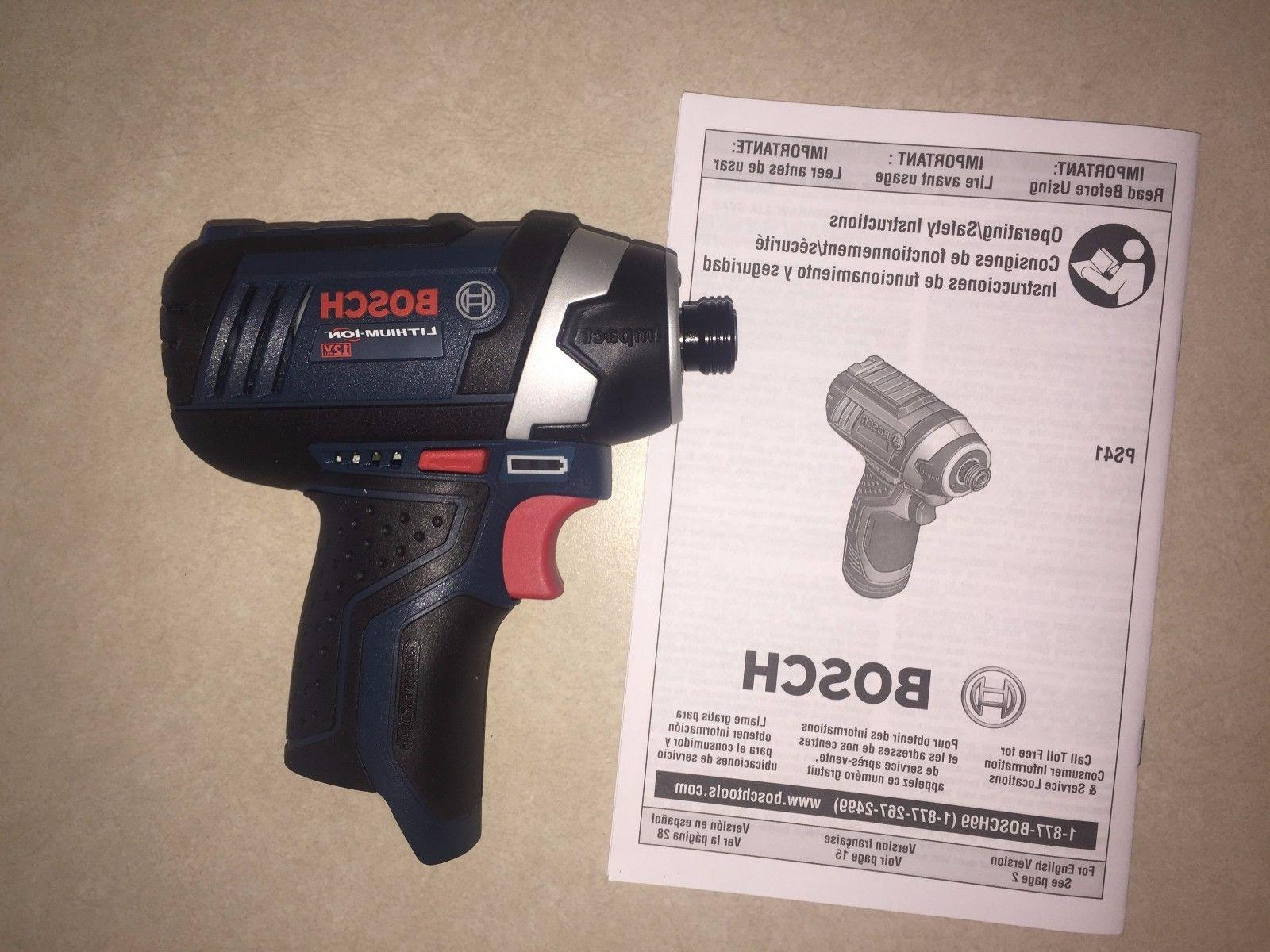 """New Ion PS41B 1/4"""" Hex Cordless PS41"""