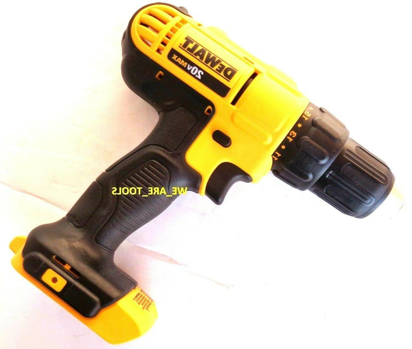 New DCD771 Compact Drill MAX Tool 20
