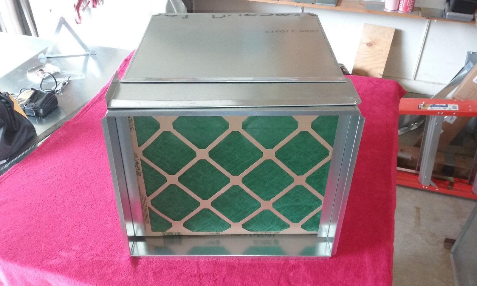 RETURN AIR DUCT PLENUM WITH 5 INCH FILTER RACK 25 X 16.5 X