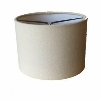 Upgradelights Sand Linen Inch Style on Chandelier Lampshade