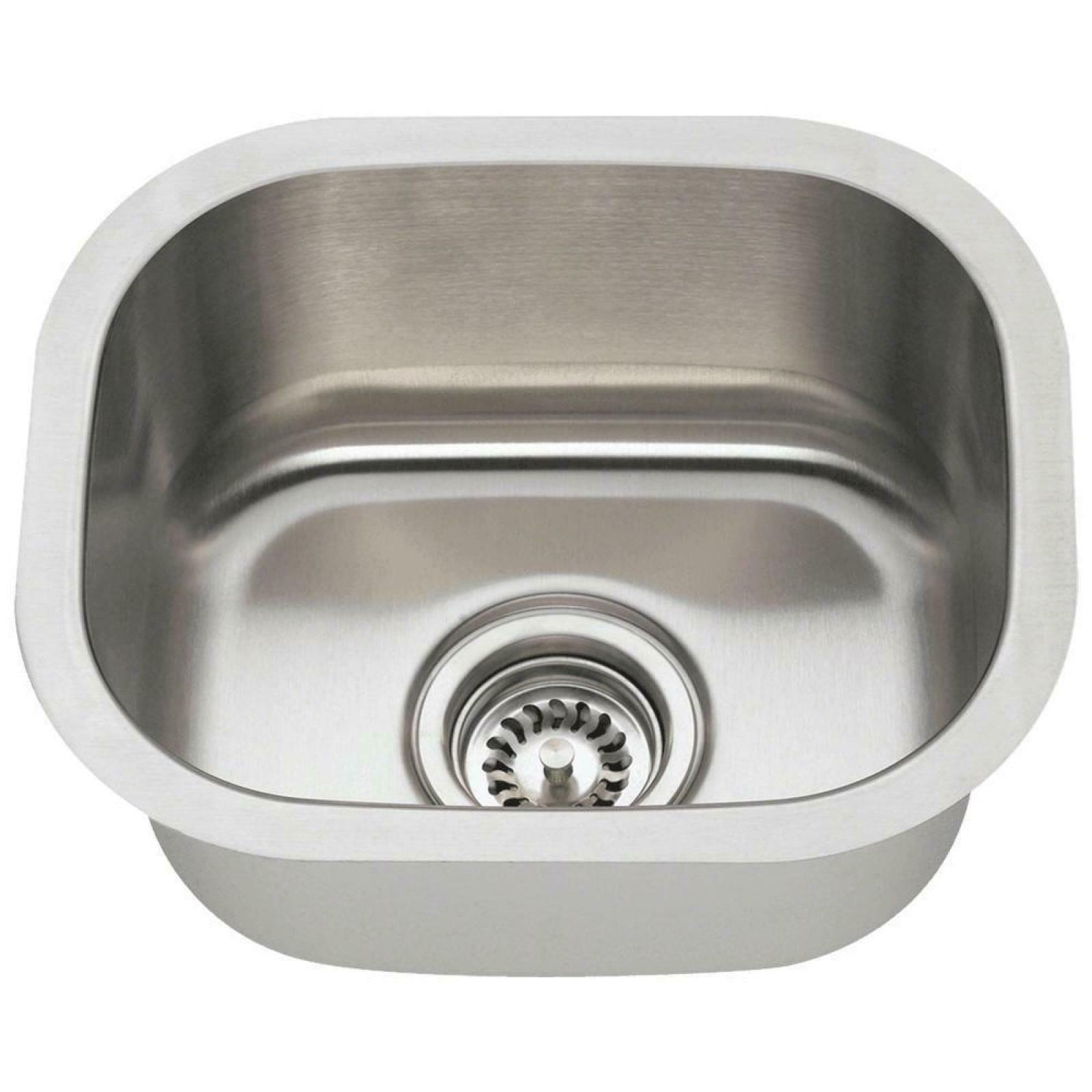Undermount Stainless Steel inch Single Bowl Sink Heavy 18 Gauge