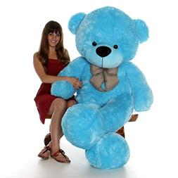 Giant Teddy 6 Foot Life Size Bear Sky Blue Huge Stuffed Anim