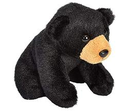 Wild Republic Black Bear Plush, Stuffed Animal, Plush Toy, G