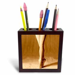 3dRose LLC Ballerina 5-Inch Tile Pen Holder