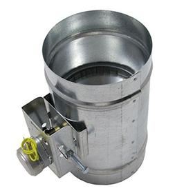 Motorized Damper - Normally Closed 5 Inch 120 VOLT W/END SWI