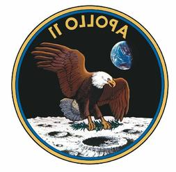 NASA Apollo 11 Sticker Military Armed Forces Decal M290