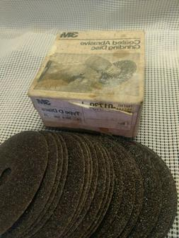New in box 3m 24 Grit 5 Inch Grinding Disk 20 Pack 018193m p