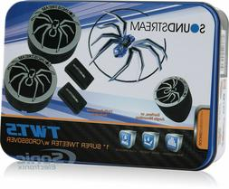 "SOUNDSTREAM TWT.5  1"" INCH CAR AUDIO TWEETERS PAIR 220W  NEW"