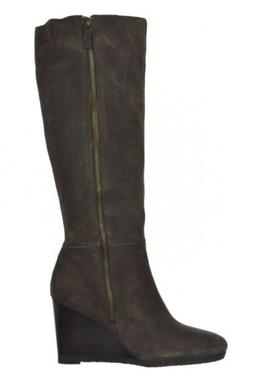 NEW Franco Sarto Watch Womens Boots Size 8.5 M Brown Chelsea