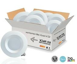NEXGEN 5/6 Inch LED Downlight Smooth Trim Recessed Can Light