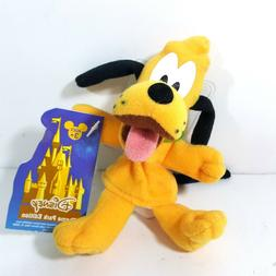 Disney Pluto Finger Puppet Plush Stuffed Character 5 Inch To