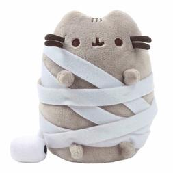 Gund Pusheen Mummy 5-Inch Halloween Plush Plushie Cat, NEW W