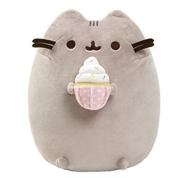 GUND Pusheen Snackables Sprinkled Cupcake Cat Plush Stuffed