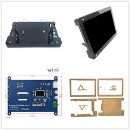 For Raspberry Pi 5 inch HDMI Display Case LCD HD Capacitive