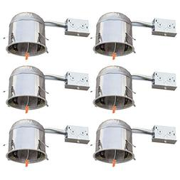 "Four-Bros Lighting RM5/LED 5 Inch 6 Pack-5"" LED Recessed Rem"