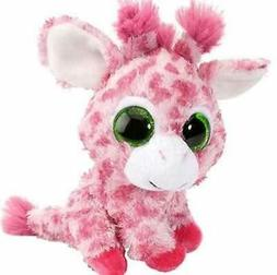 5 Inch Sweet & Sassy Strawberry Pink Giraffe Stuffed Animal