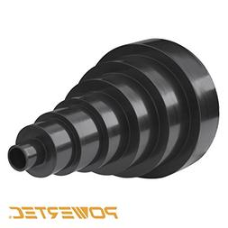 POWERTEC 70139 7 Step Universal Reducer, 6-Inch to 1-Inch
