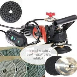 4-Inch to 5-Inch Variable Speed Wet Polisher Grinder Sander