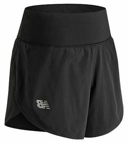New Balance Women's 5 Inch Impact Short Black